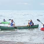 Canoeing on the Sound