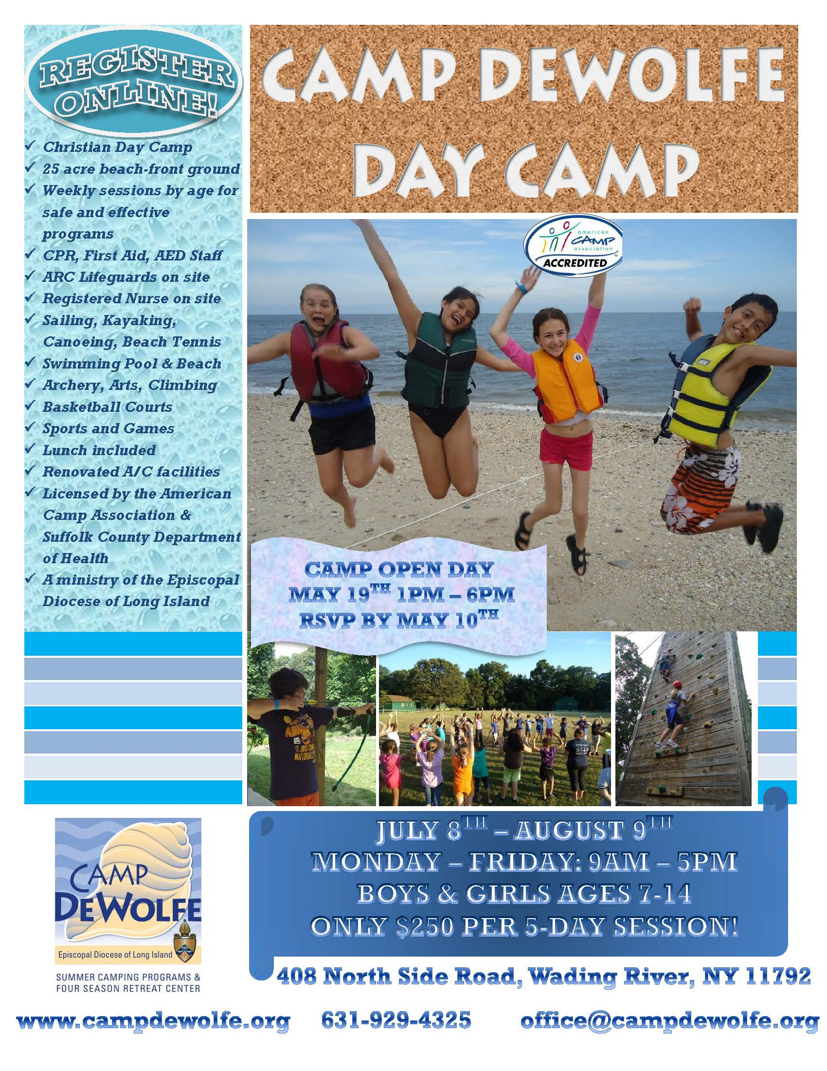 Day Camp Flyer 2013
