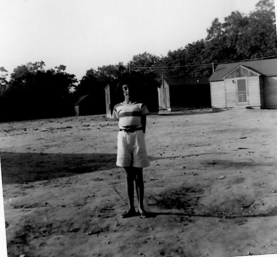 Kathleen a camper 1955