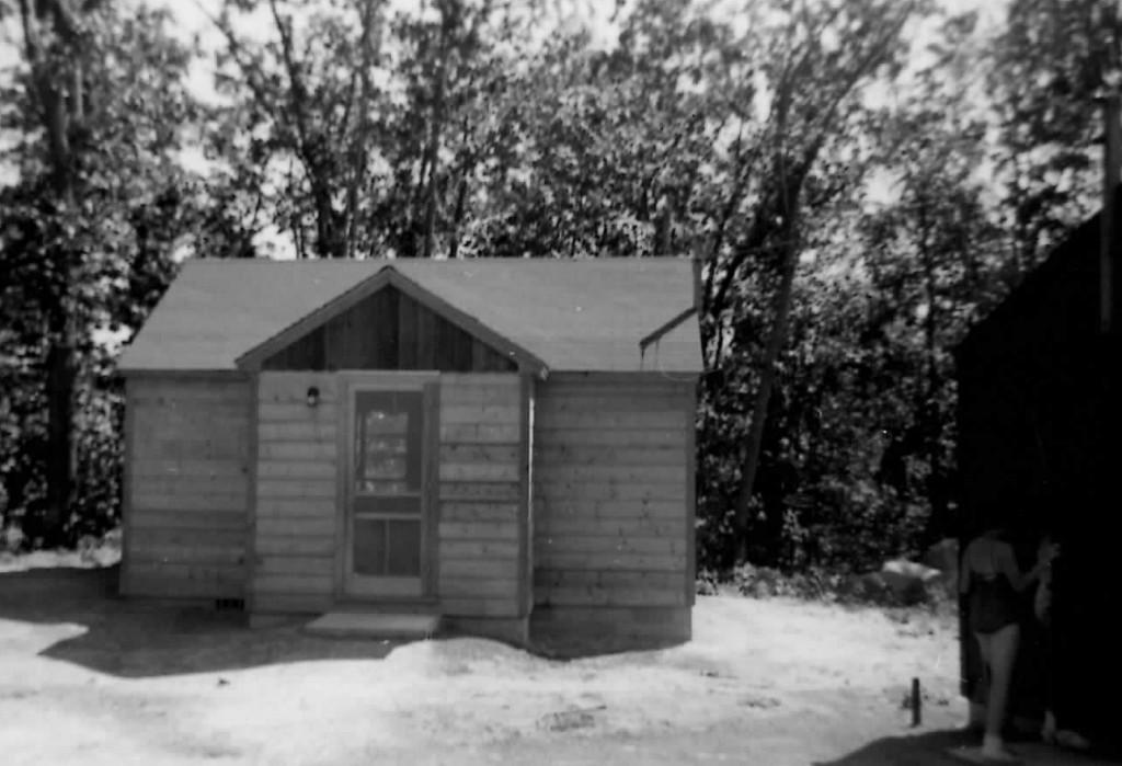 New cabin 1955