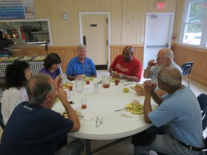 Fellowship over lunch