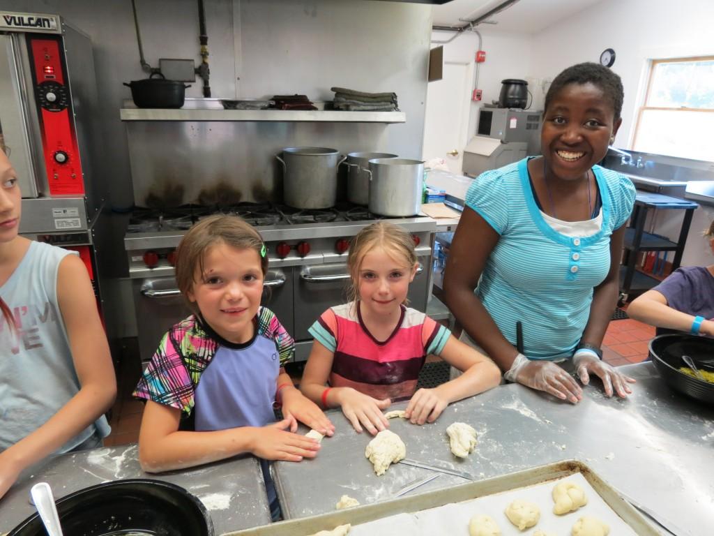 Karen and her baking class