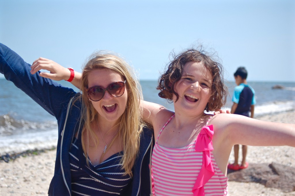 Beki and her camper Jess