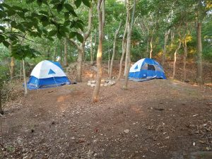 Tents Popped